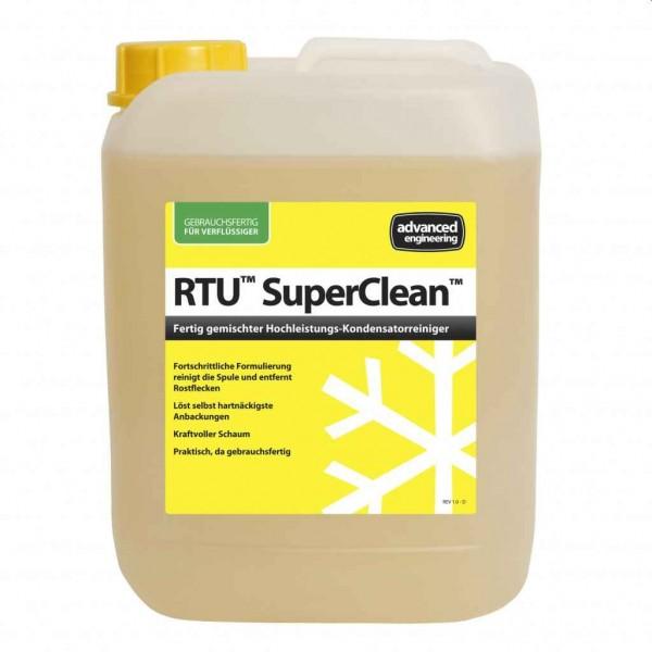 SuperClean Hochleistungsreiniger Verflüssiger Kanister 5 Liter RTU gebrauchsfertig