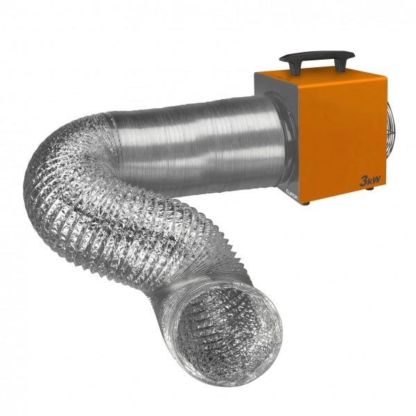 EUROM Heat Duct Pro 3,3 kW Warmluftgerät
