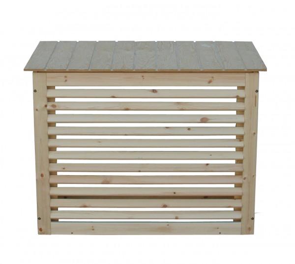Sichtschutzverkleidung Holz Größe 1