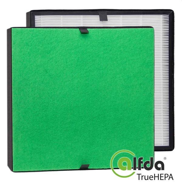 alfda Ersatzfilterset zu ALR550 Comfort TrueHEPA Filter