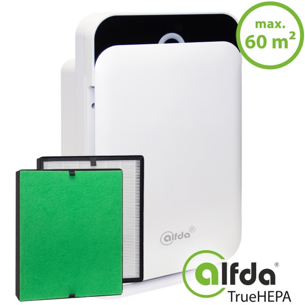 alfda HEPA-Luftreiniger ALR300 Comfort mit alfdaTrueHEPA Filter