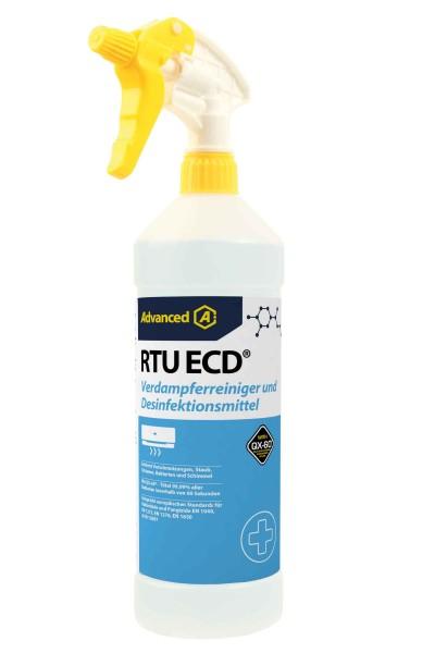 RTU ECD Verdampferreiniger und Desinfektionsmittel 1L Sprühflasche