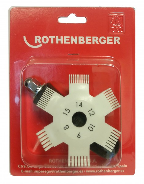 Rothenberger Lamellenkamm 224500