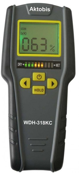 Aktobis Materialfeuchte Messgerät WDH-318KC