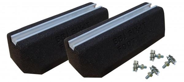 ASPEN Dämpfungsockel Aufstellbalken Fix It 1000mm Set 2 Stück