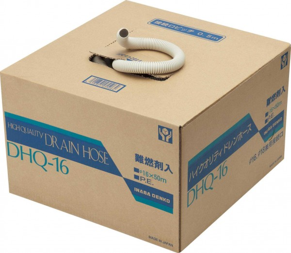 Inaba Denko Kondensatschlauch 16mm für Klimageräte (Japanschlauch)